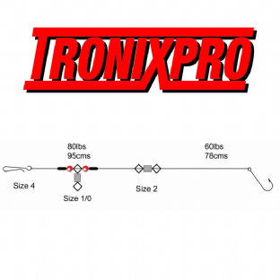 Tronix Pro Pulley - Size 3/0